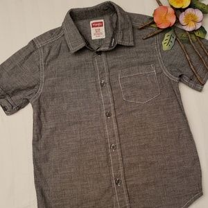 Wrangler Jeans Co Short Sleeve Button Down Shirt